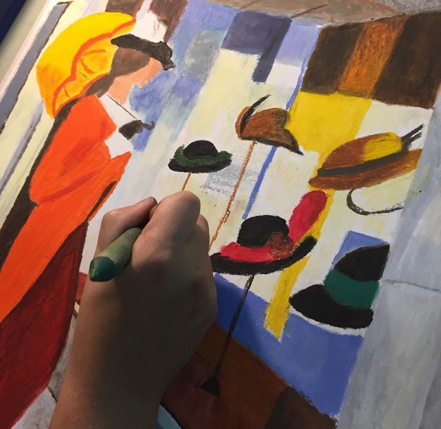 Oil Pastel Workshop