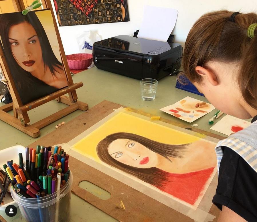 Soft Pastel Portrait Workshop