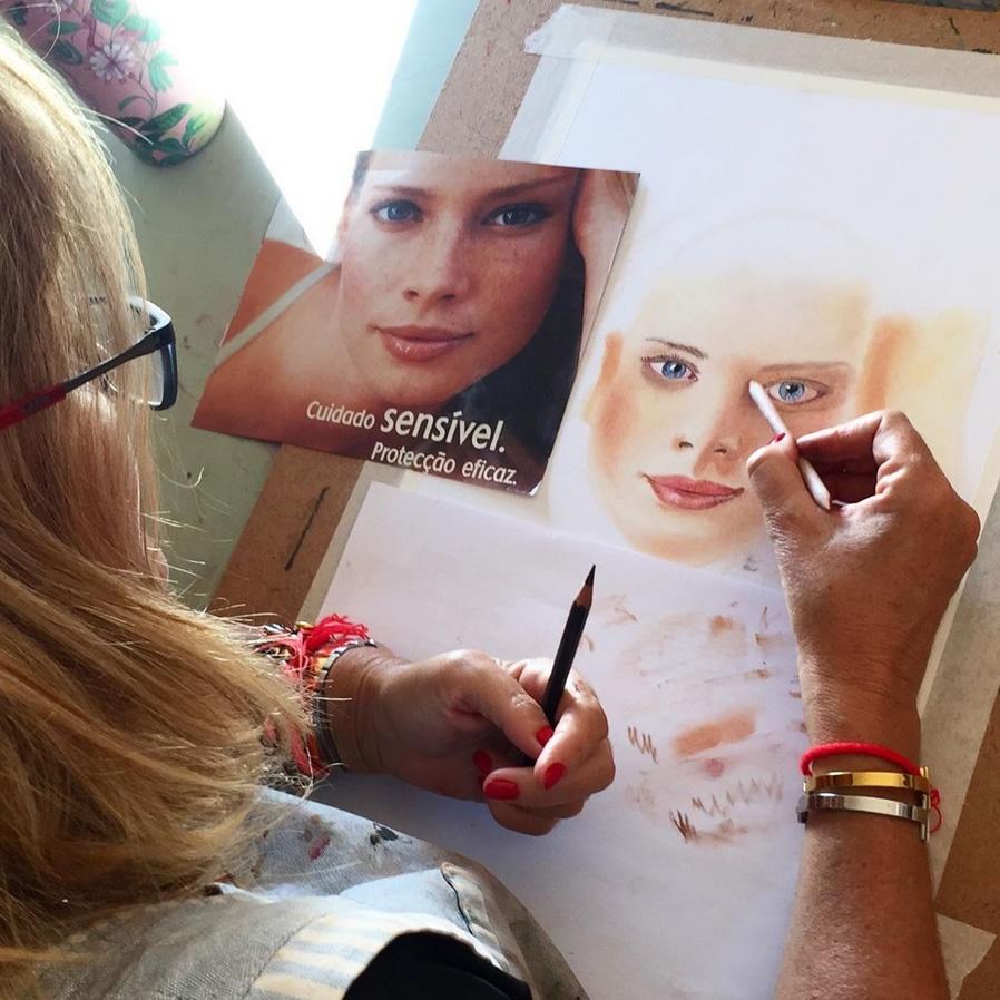 Pastel Portrait Workshop